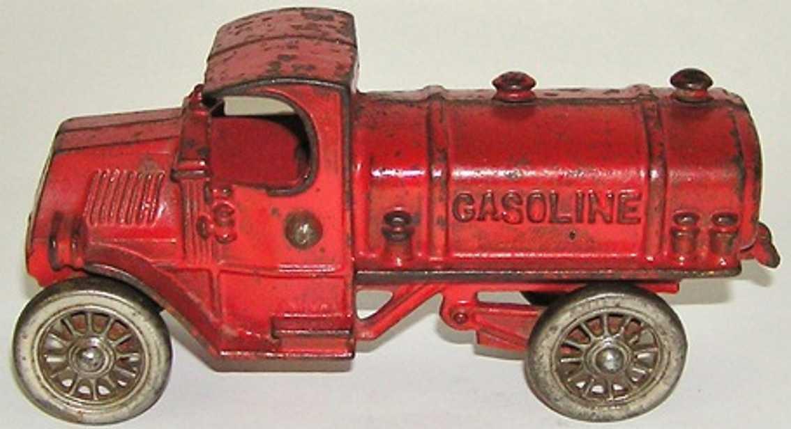 williams ac spielzeug gusseisen tanklastwagen rot