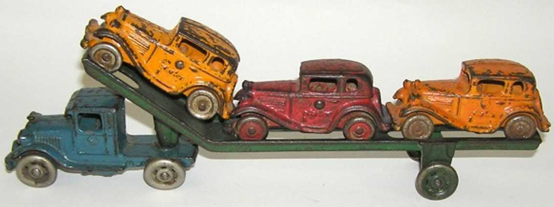 williams ac cast iron toy carrier car 3 austin-autos
