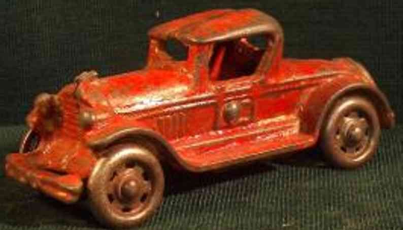williams ac cast iron toy car coupon red