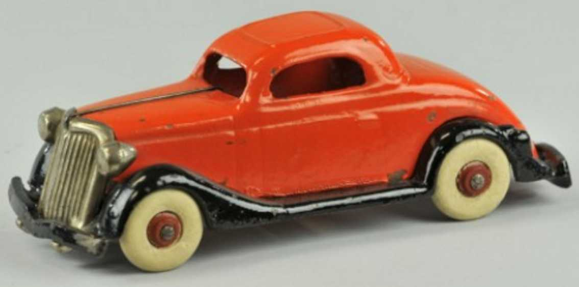 williams ac gusseisen auto ford coupe rot