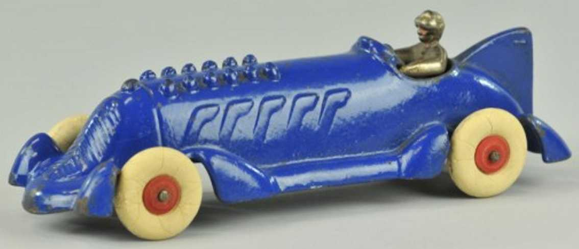 williams ac spielzeug gusseisen rennauto blauer rennwagen