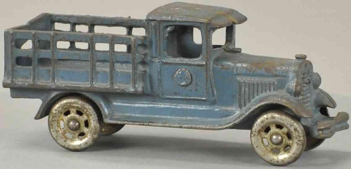 williams ac spielzeug gusseisen lastwagen blau