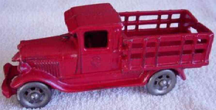 williams ac 2368 spielzeug gusseisen ford lastwagen rot
