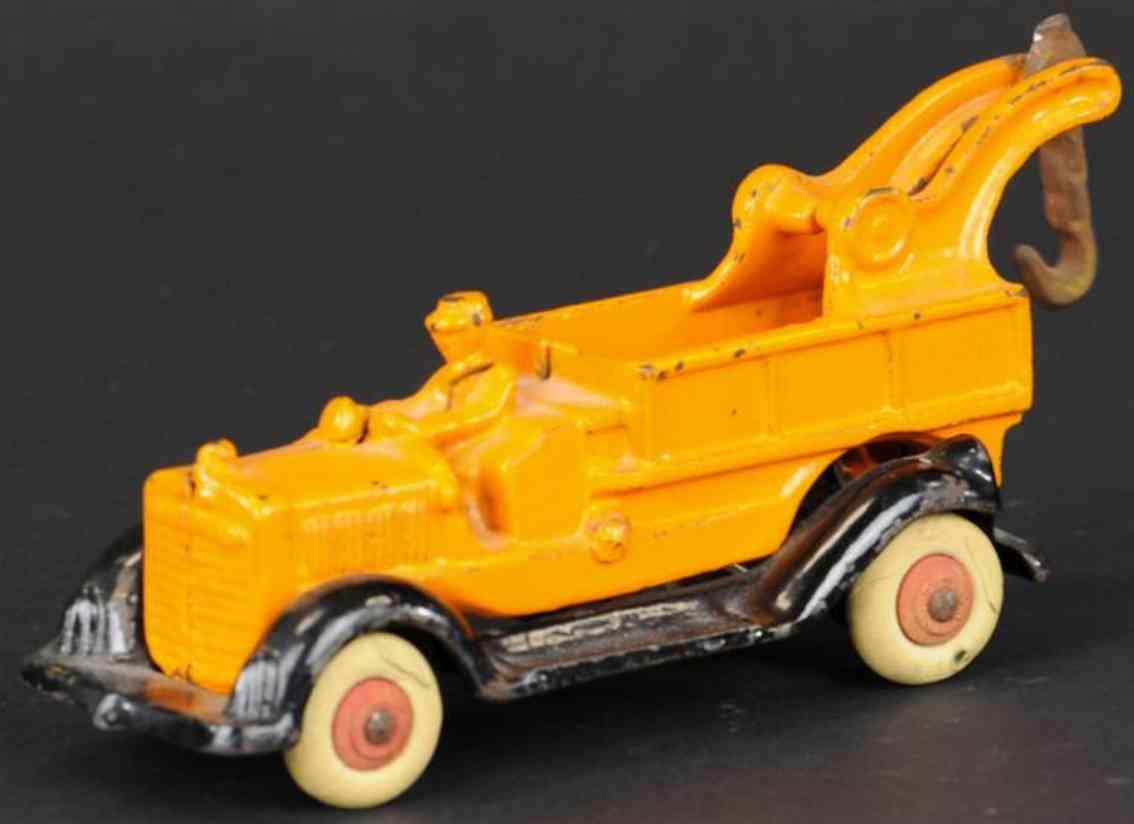 williams ac spielzeug gusseisen abschleppwagen orange