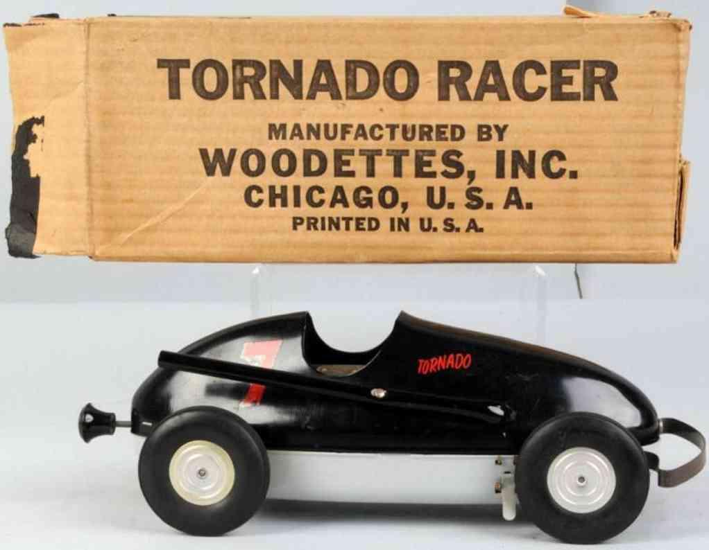 Woodettes 7 Tornado race car