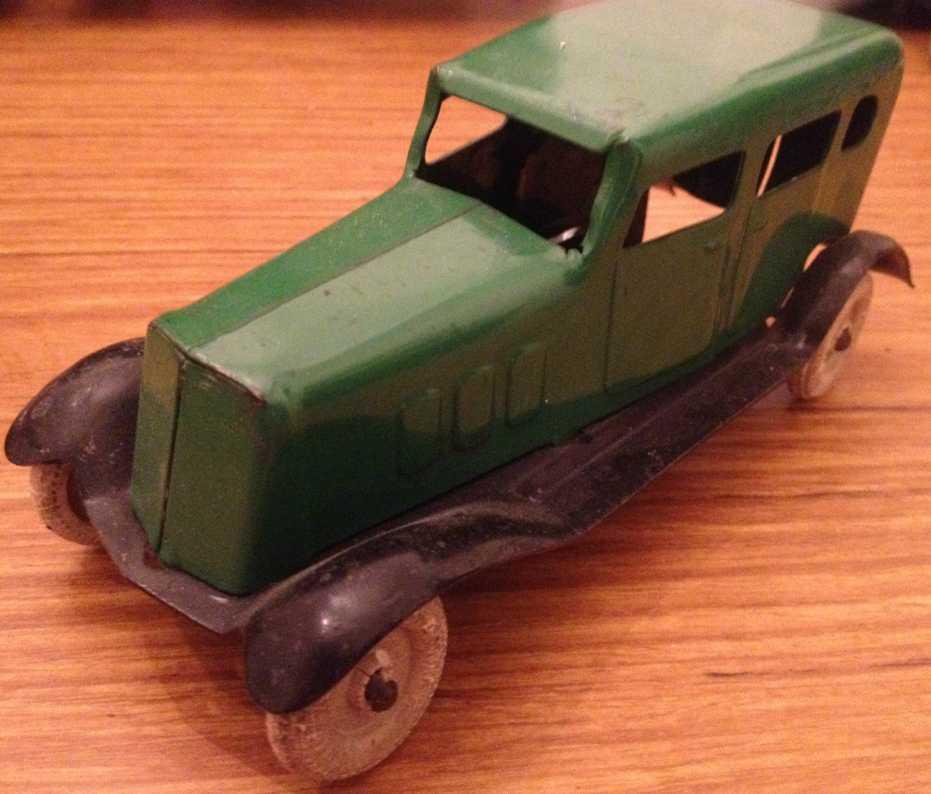 Wyandotte Oldtimer Auto in grün