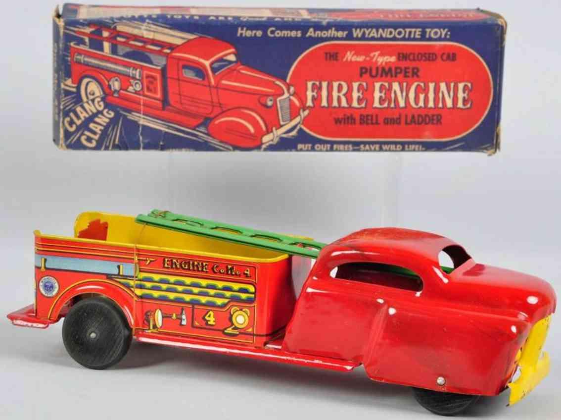 Wyandotte Feuerwehrpumpenwagen