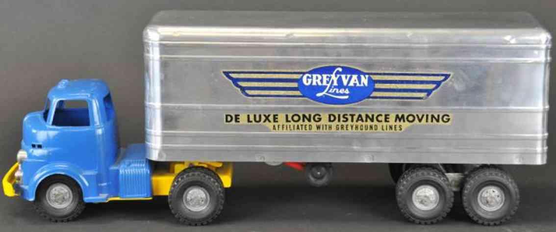 Wyandotte Lastwagen mit Kastenwagen