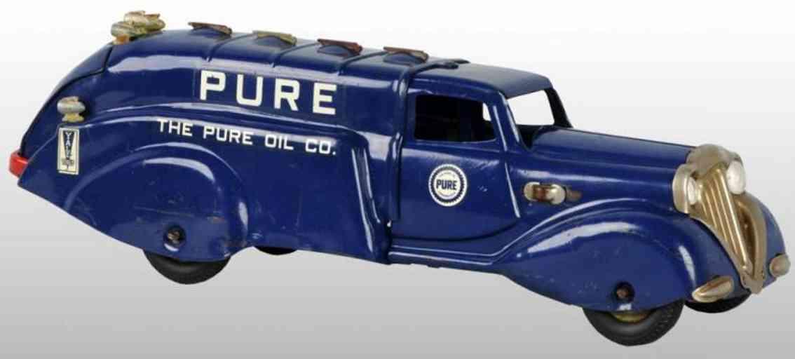 Wyandotte Benzinlastwagen Pure Oil