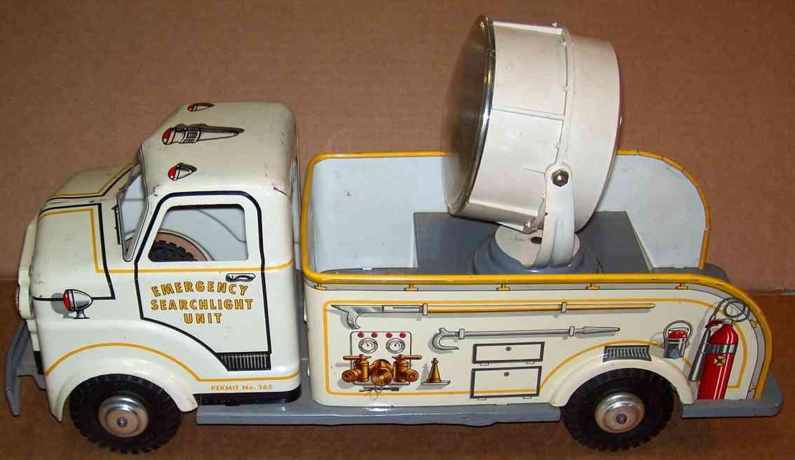 Wyandotte Lastwagen Suchscheinwerferauto