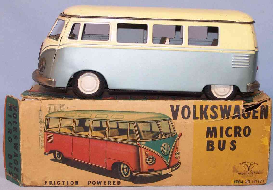 yone 10777 tin toy vw bus flywheel drive