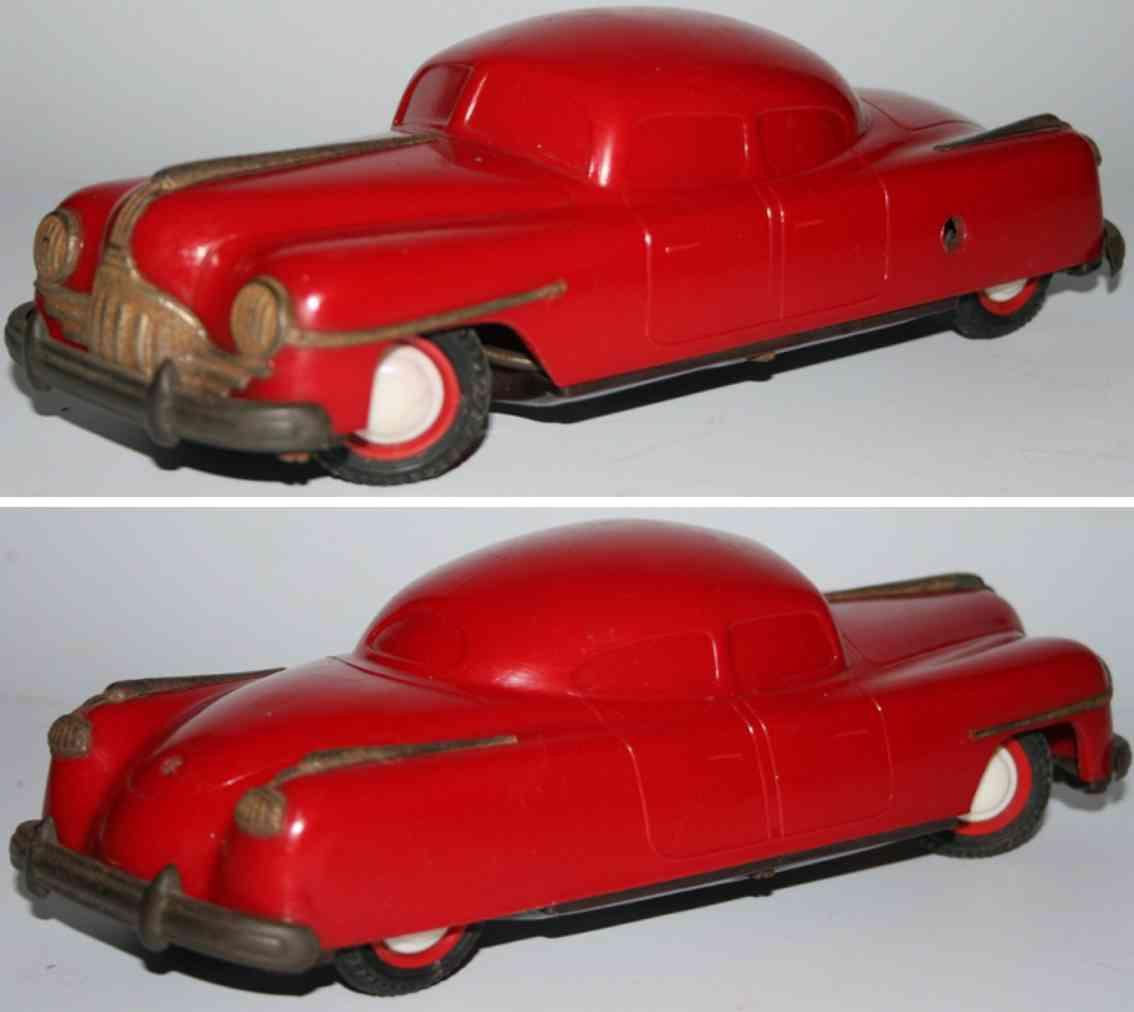 belco pneu celluloid plastic toy car