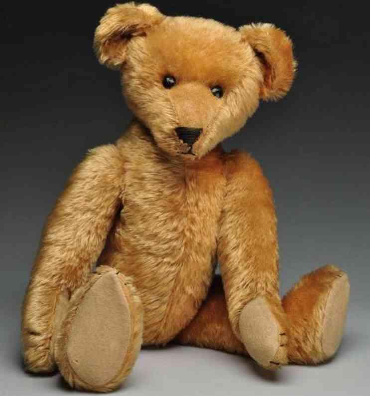 ideal toy baer teddy baer mit fuenf klauen