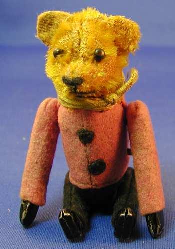 Schuco 873  Tumbling-figure bear with clockwork