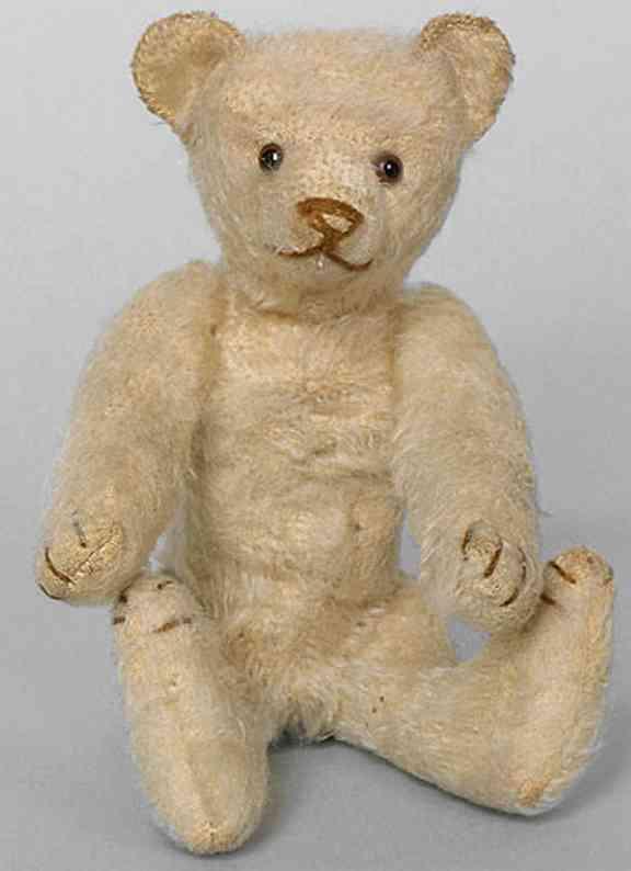 steiff 5313 teddy baer weiss umkettelte ohren