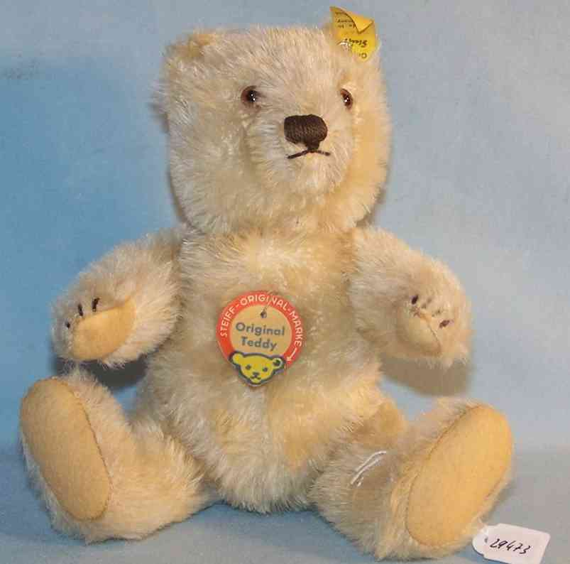 Steiff 5322 Teddy Bär aus Mohair in weiß