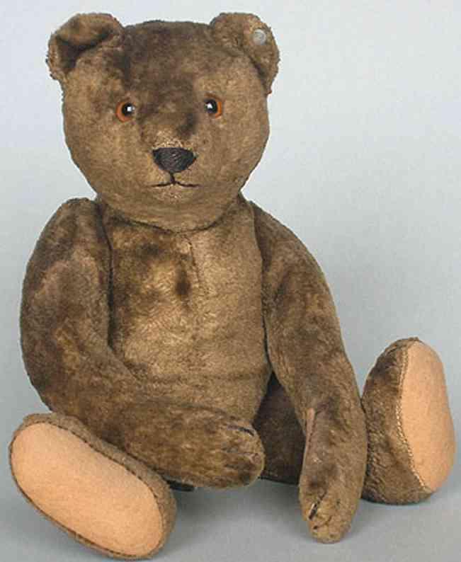 steiff 5630,2 bear artificial silk plush bear