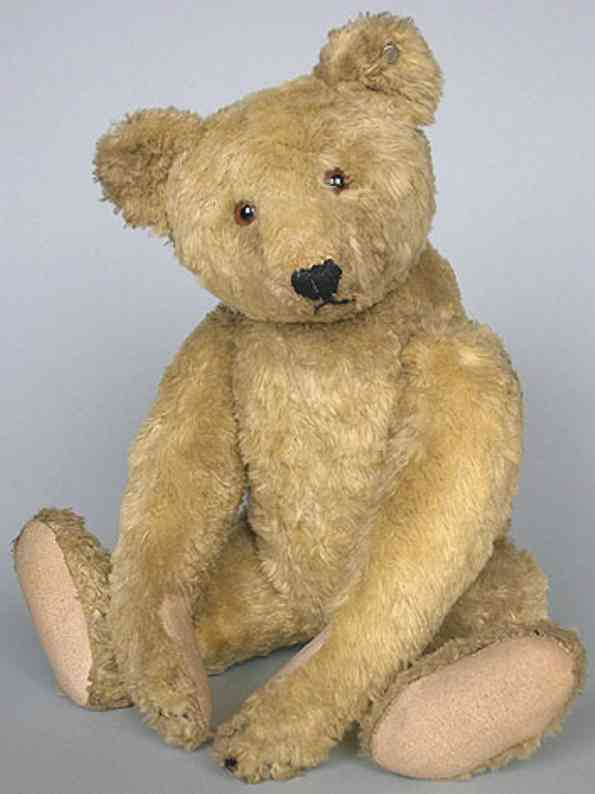 steiff 5643,2 teddy bear silk plush