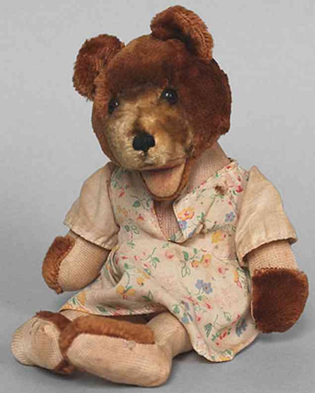 steiff 625 dressed dangling teddy baby bear