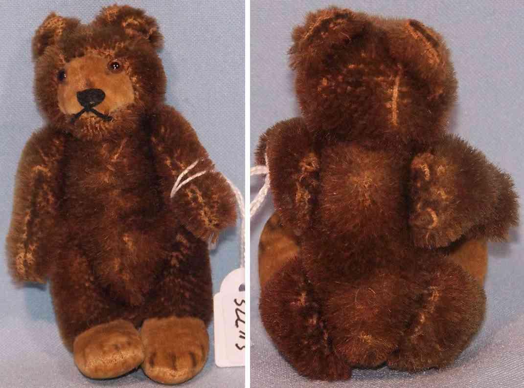 steiff 7309 br teddy baby baer pluesch mohair