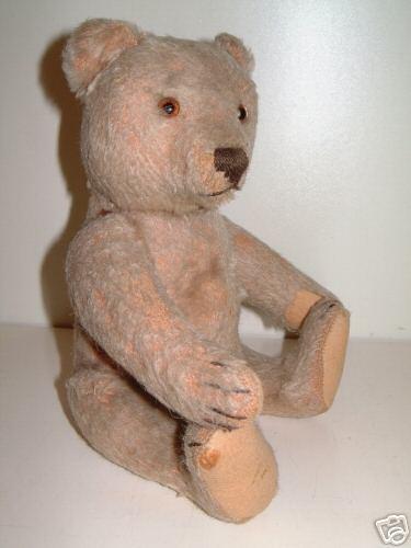 Steiff  Teddy mit Holzwolle