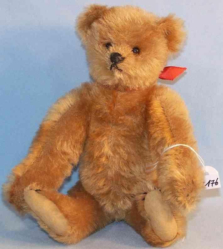 Steiff Teddy Bär aus Mohairplüsch und Filz