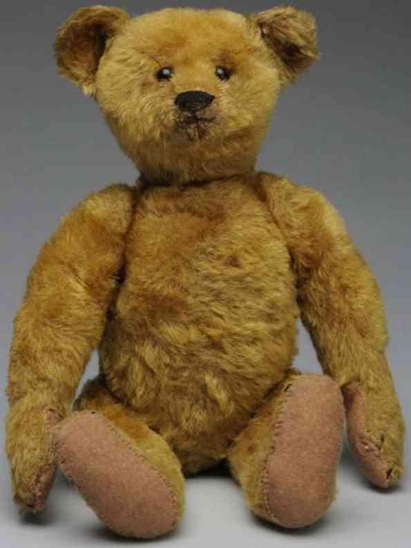 steiff alter mohair teddybaer