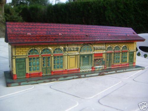 bing 60/691 toy railway station english