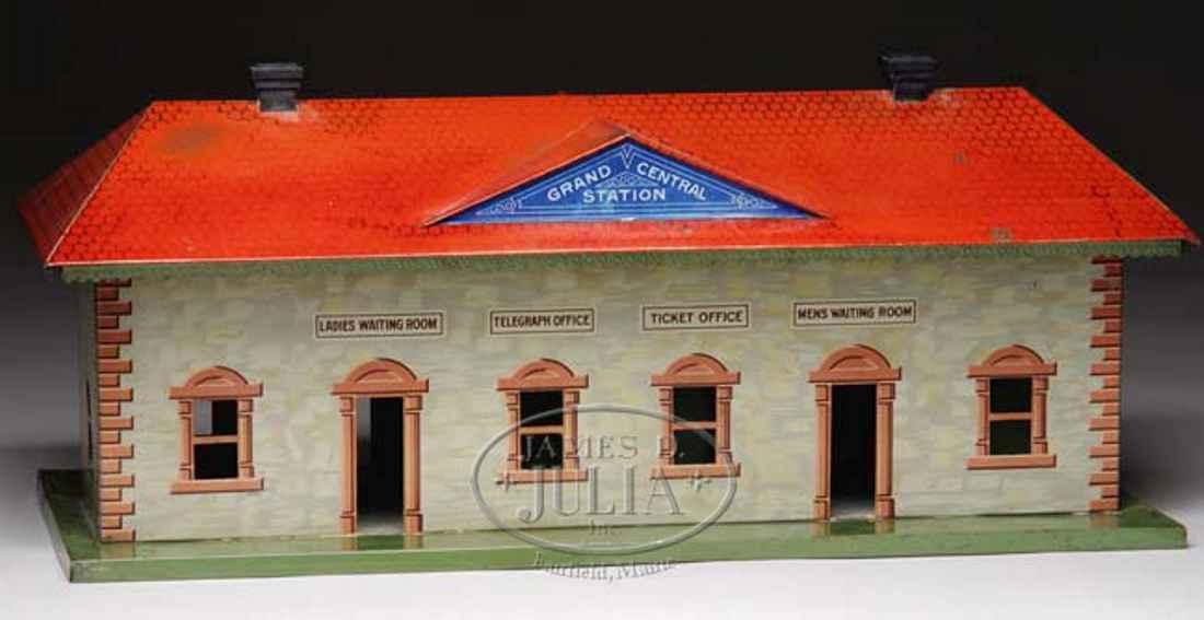 bing 70/623 spielzeug bahnhof grand central station