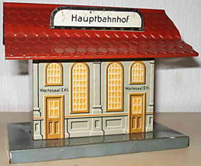 bub spielzeug eisenbahn hauptbahnhof