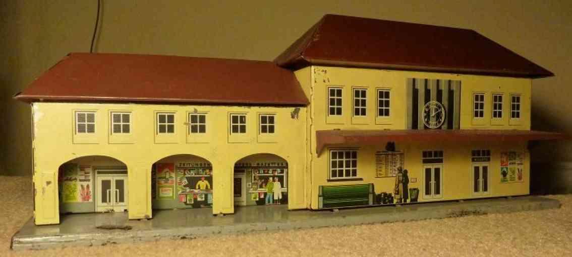 bub spielzeug eisenbahn bahnhof einkaufspassage