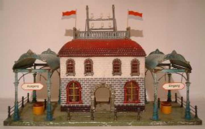 carette 647/129 toy railway station