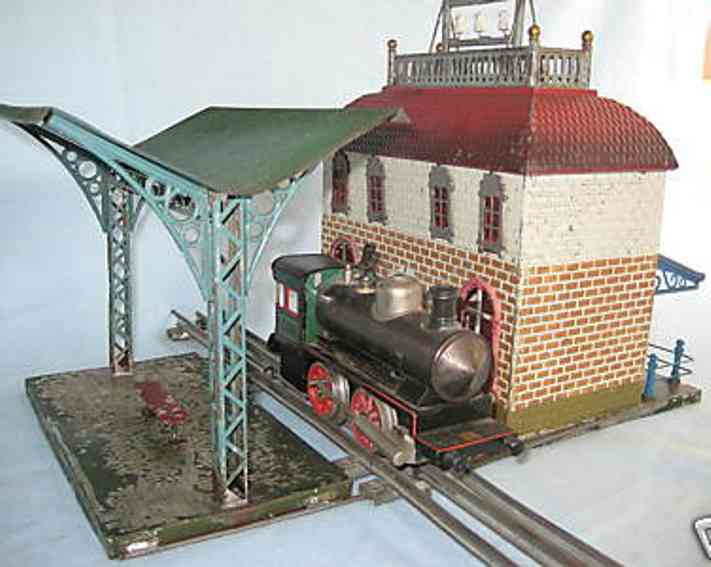 carette 647/132 toy railway station