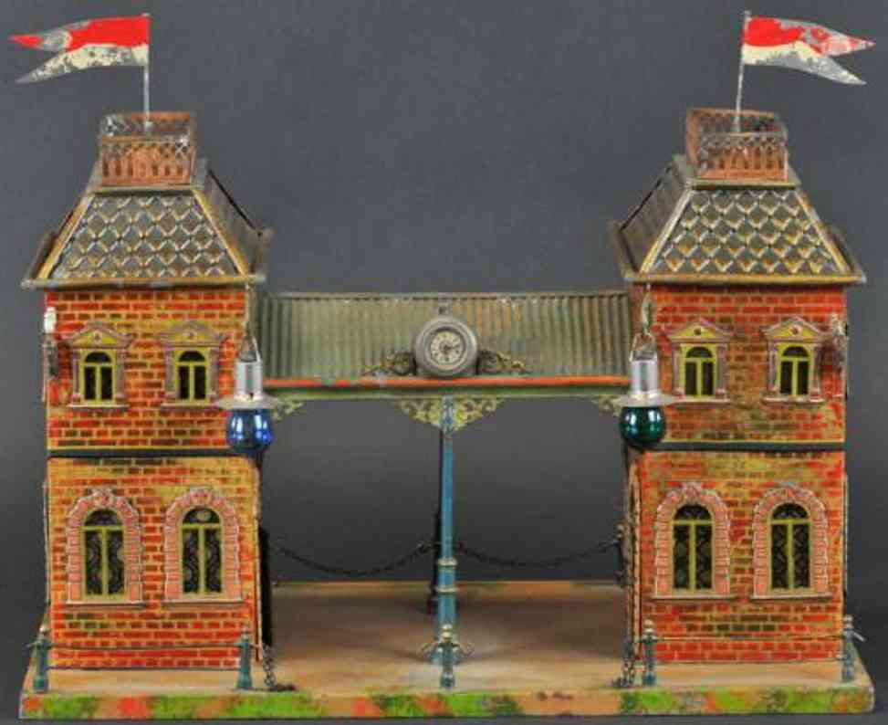 carette 647/57 toy train station