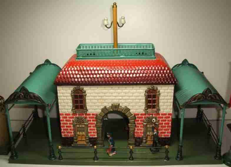 carette 647/127 toy tin railway station