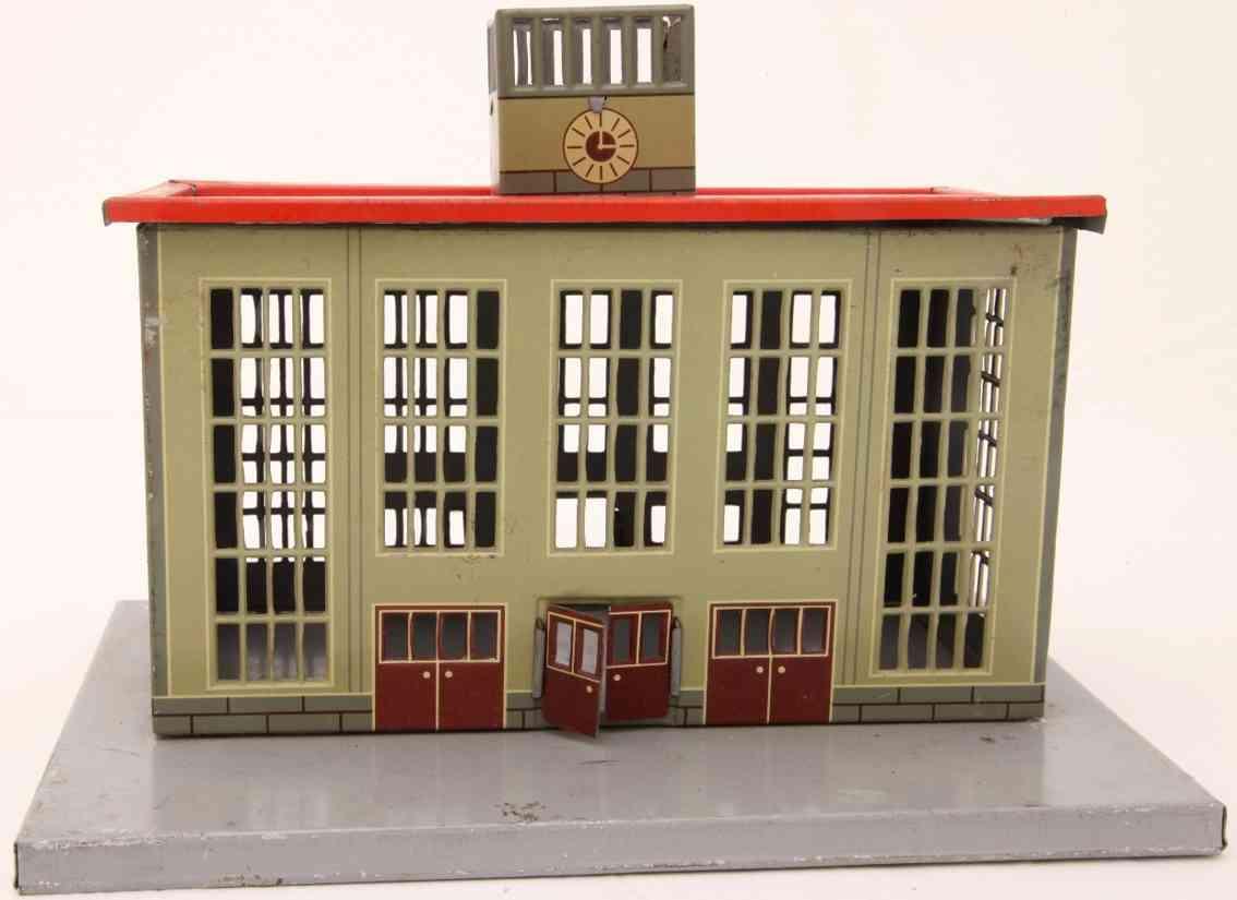 distler johann 109 railway toy city train station