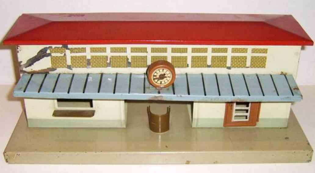 fleischmann 580 spielzeug eisenbahn bahnhof