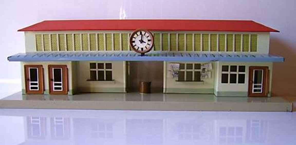 fleischmann 581 spielzeug eisenbahn bahnhof