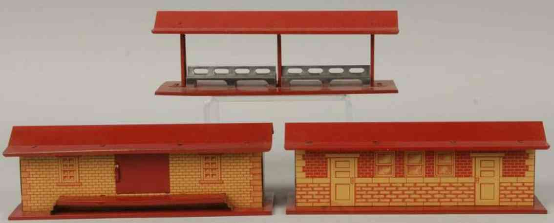 Hafner Platform staion freight station and platform