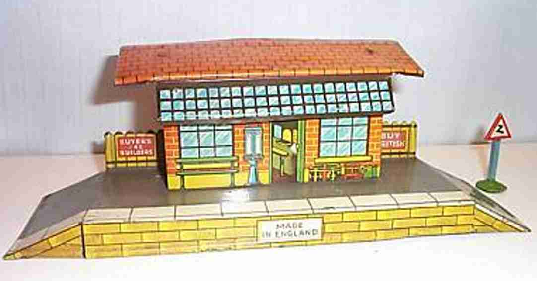 hornby railway toy country station gauge 0