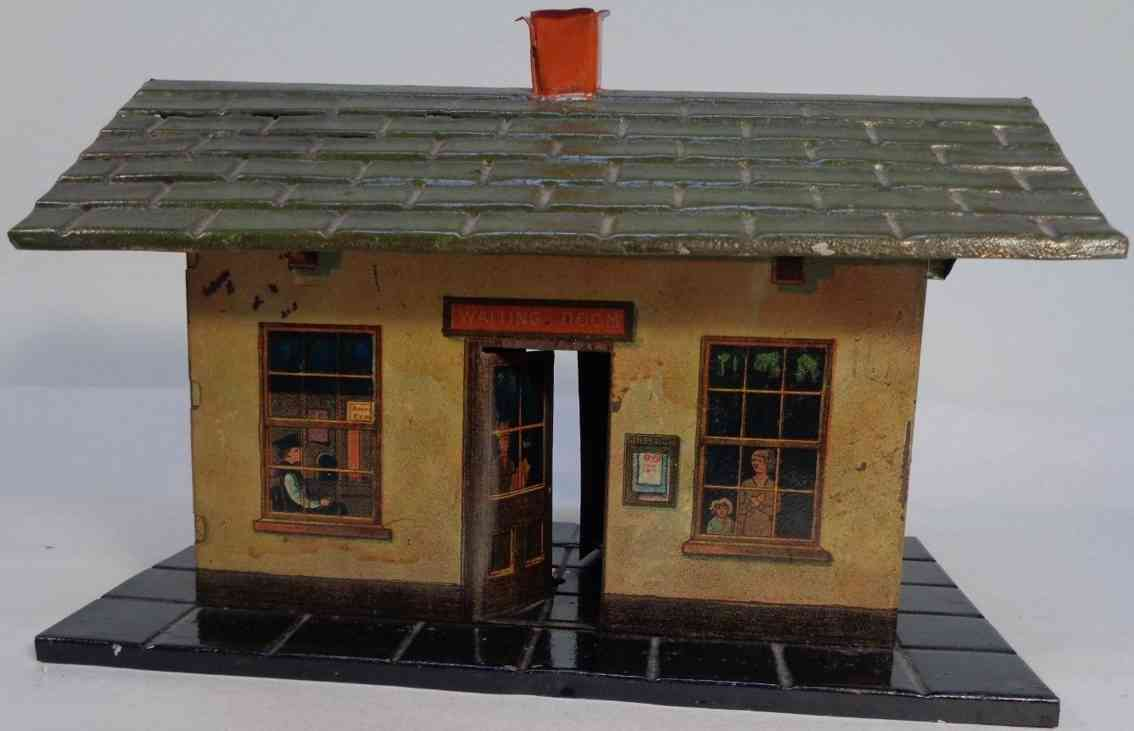 ives 201 toy small passenger station