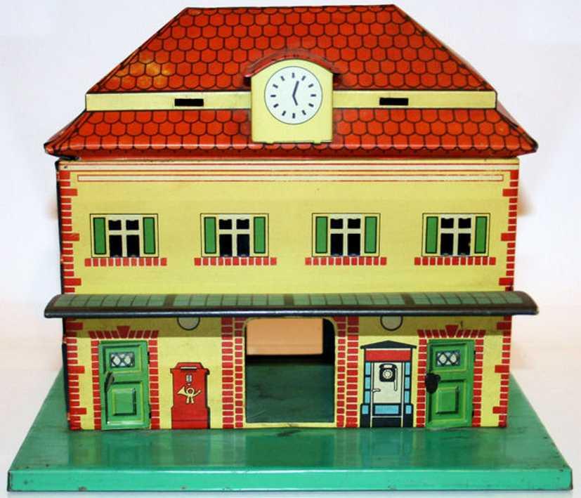 keim 2048 toy suburb railway station with canopy gauge 0