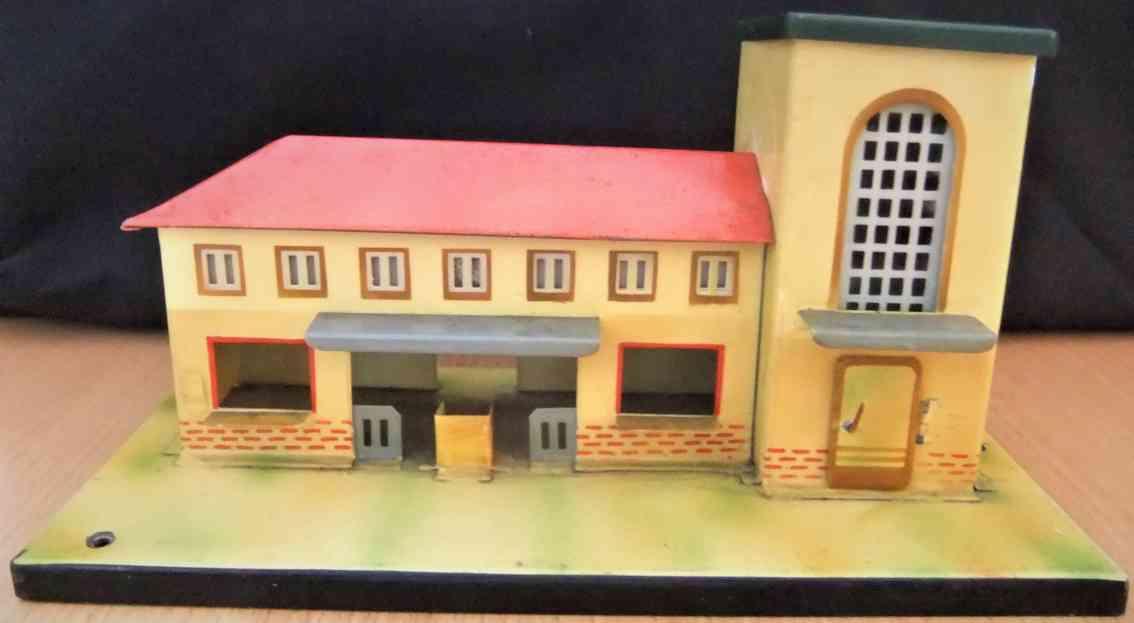 kibri 0/52/41 toy railway station tower right gauge h0