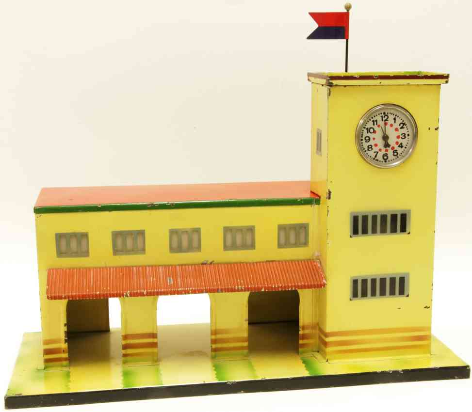 kibri 52/000 193) toy modern railway station tower right