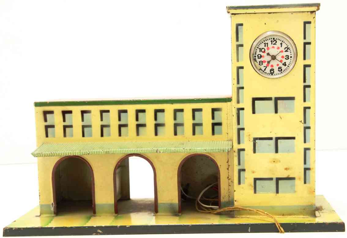 kibri 52/000 (1935) toy railway station right tower