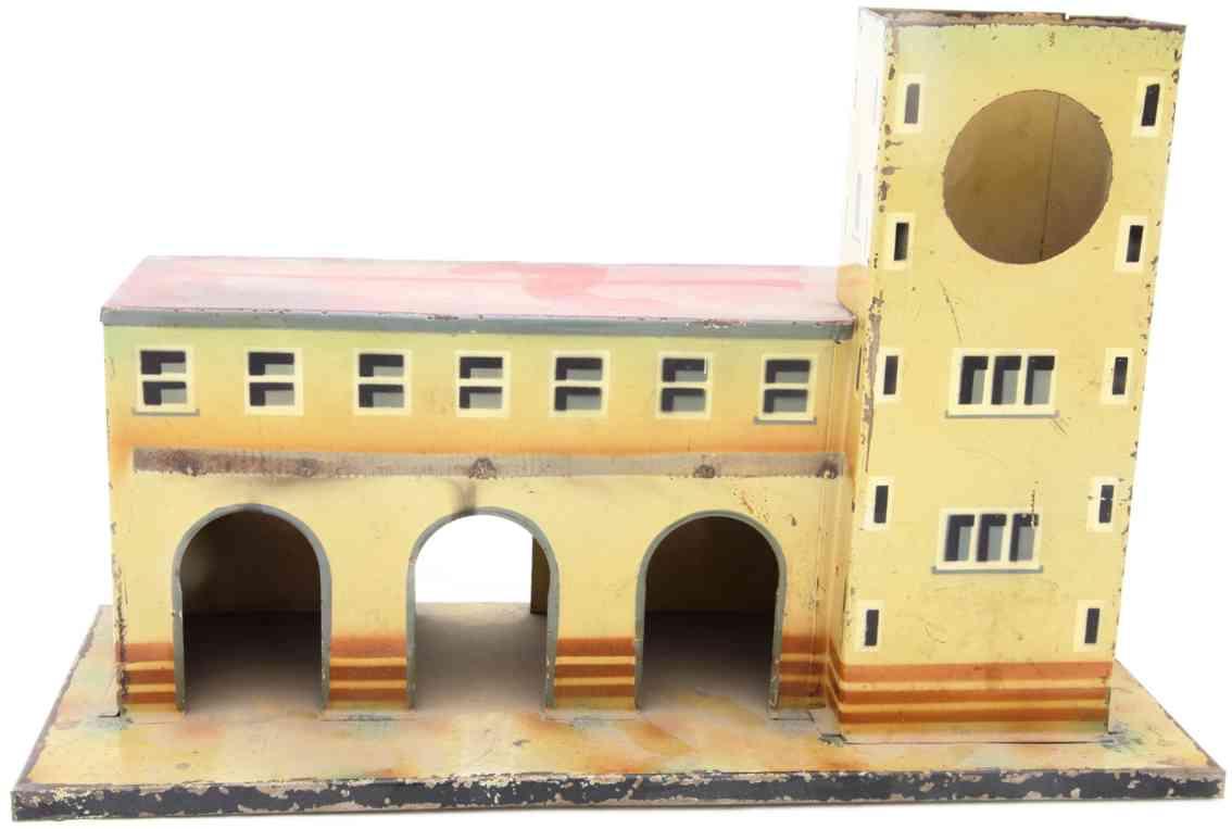 kibri 52/000 1935 toy railway station tower right