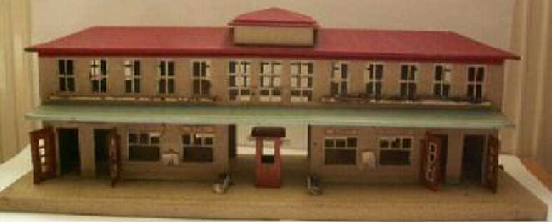kibri 52/4 toy symmetrical railway station