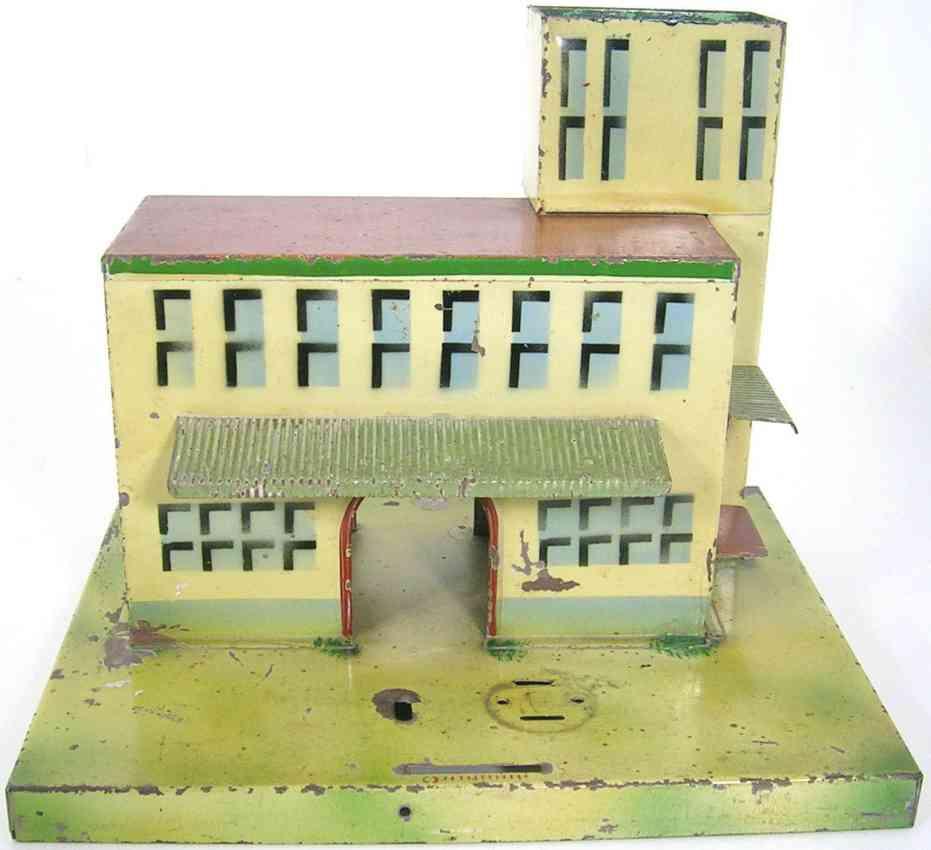 kibri 52/4/0 railway toy railway station gauge 0
