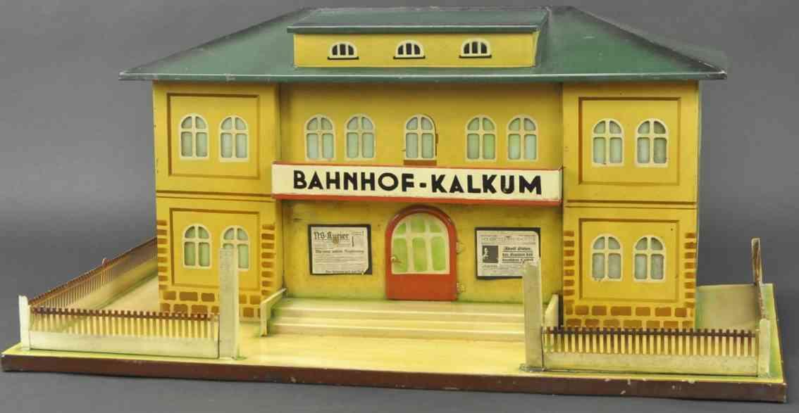 kibri spielzeug eisenbahn bahnhof kalkum