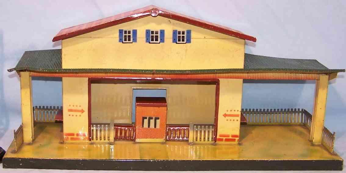 kibri toy railway station